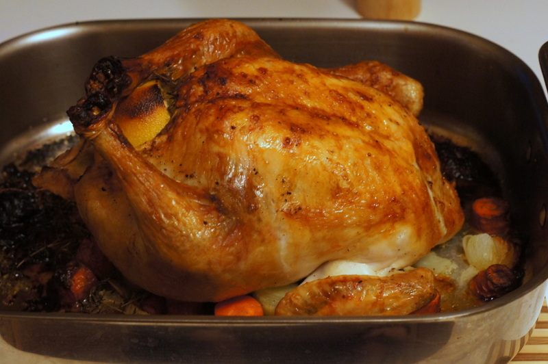 Carve the chicken and enjoy! & Devour Utah | Simply Roasted Chicken| Foodie