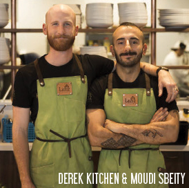 Derek Kitchen & Moudi Sbeity