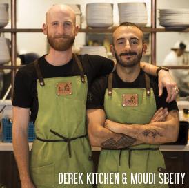 Derek Kitchen & Moudi Sbeity