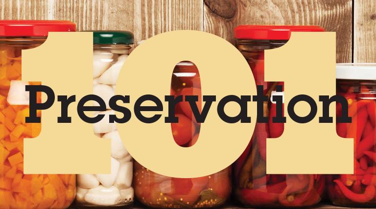 Preservation 101