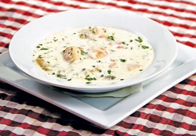 Devour This: Scallop & Clam Chowder