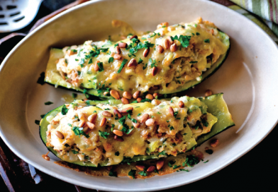 Hell's Backbone Grill & Farm  Stuffed Summer Squash