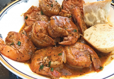 Cajun Barbecue Shrimp