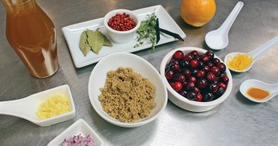 Thistle and Thyme's cranberry relish