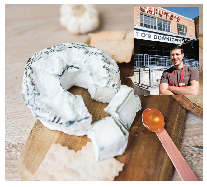 park city Creamery's Silver Queen goat CHEESE